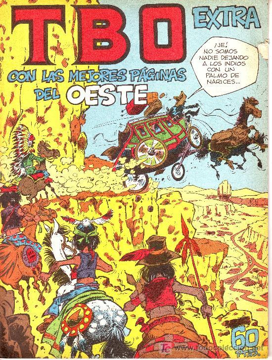 TBO EXTRA CON LAS MEJORES PÁGINAS DEL OESTE (Tebeos y Comics - Comics Extras)