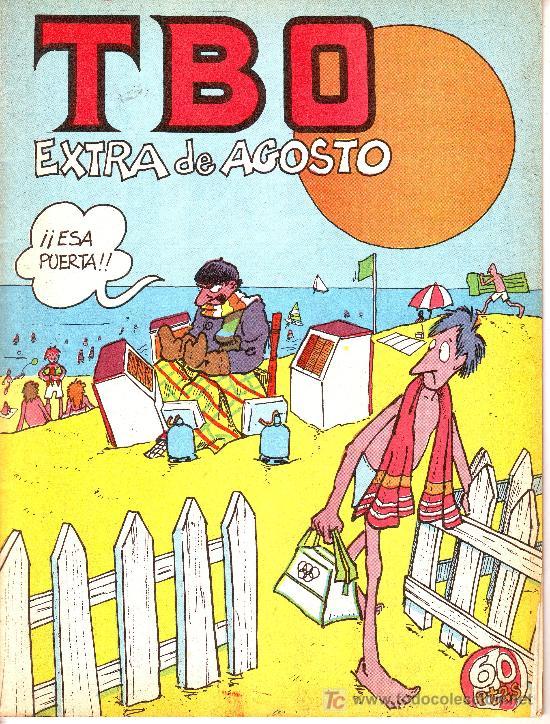 TBO EXTRA DE AGOSTO (Tebeos y Comics - Comics Extras)