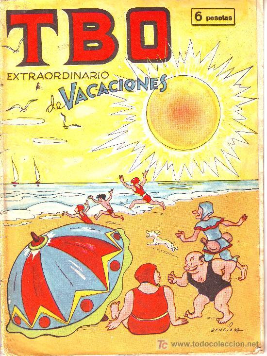 TBO EXTRAORDINARIO DE VACACIONES.AÑO 1964 (Tebeos y Comics - Comics Extras)