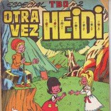 Cómics: ESPECIAL TBO Nº 2: OTRA VEZ HEIDI.AGOSTO DE 1976. Lote 7019375