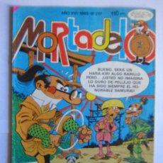 Cómics: MORTADELO 1985. Lote 27275152