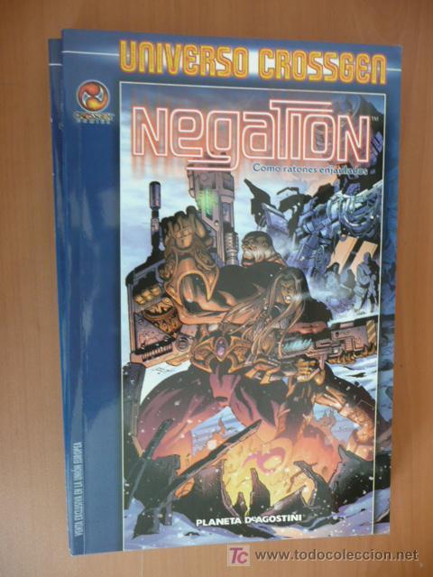 NEGATION. TOMO: COMO RATONES ENJAULADOS. UNIVERSO CROSSGEN (Tebeos y Comics - Comics Extras)