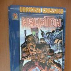 Cómics: NEGATION. TOMO: COMO RATONES ENJAULADOS. UNIVERSO CROSSGEN. Lote 25924368
