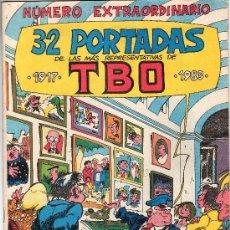 Cómics: TBO EXTRORDINARIO 32 PORTADAS COMIC. Lote 239910655