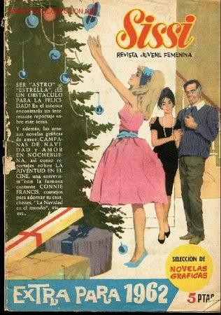 REVISTA JUVENIL FEMENINA- SISSI - EXTRA PARA 1962 (Tebeos y Comics - Comics Extras)