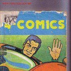 Cómics: VOLUMEN TITULADO 4 COMICS CON 200 PÀGINAS DE BEN BOLT(LA RETIRADA),EL ABOGADO CANTRELL,.... Lote 2258515
