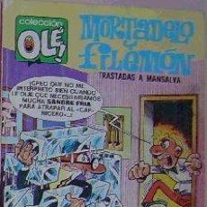 Cómics: COLECCIÓN OLÉ, Nº 140: MORTADELO Y FILEMÓN, . Lote 10027444