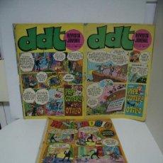 Cómics: 2 REVISTAS DE DDT Y UNA DE MORTADELO. Lote 19038198