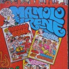 Cómics: MANOLO E IRENE. TOMO CON NÚMEROS 4,5,6. Lote 26395096