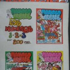 Cómics: MANOLO E IRENE. TOMO CON NÚMEROS 1,2,3.. Lote 25563621