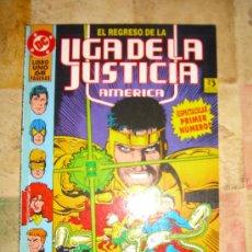 Cómics: EL REGRESO DE LA LIGA DE LA JUSTICIA AMERICA. 2 TOMOS. COMPLETA CJ 1 - GORBAUD. Lote 13167120