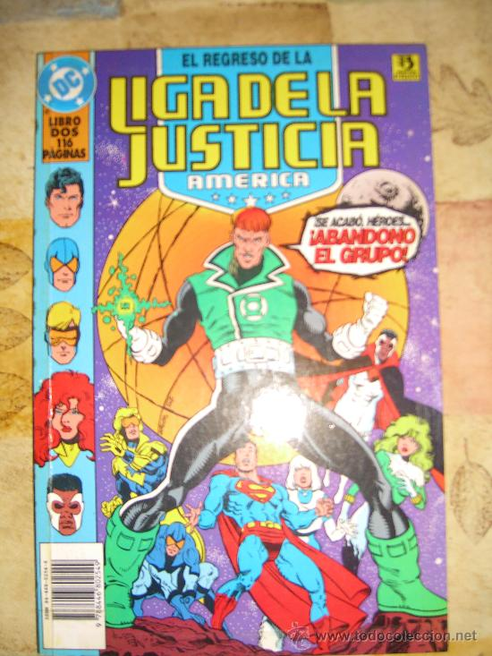 Cómics: EL REGRESO DE LA LIGA DE LA JUSTICIA AMERICA. 2 TOMOS. COMPLETA CJ 1 - GORBAUD - Foto 2 - 13167120