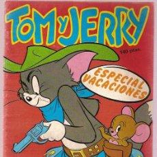 Cómics: COMIC INFANTIL TOM Y JERRY ESPECIAL VACACIONES 68 PAGINAS EDICIONES SARPE. Lote 23763601