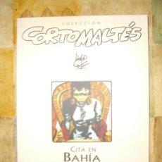 Cómics: CORTO MALTES. CITA EN BAHIA. NUMERO 2 CJ 1. Lote 11487132