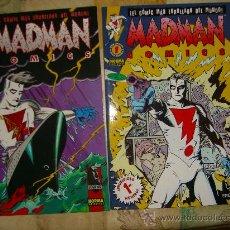 Cómics: MADMAN. NUMEROS 1 Y 2 CJ 3. Lote 11487470