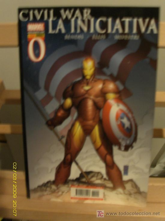 CIVIL WAR - LA INICIATIVA (Tebeos y Comics - Comics Extras)