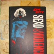 Cómics: SIN CITY-SEXO Y VIOLENCIA. TOMO UNICO CJ 3. Lote 12639878
