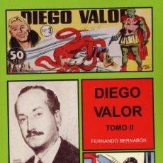 Cómics: CUADERNOS DE LA HISTORIETA DIEGO VALOR TOMO II FERNANDO BERNABON. Lote 111325171