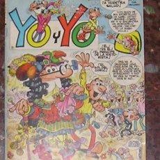 Cómics: YO Y YO LOTE Nº 1 AL 5 EDICIONES JUNIOR GRIJALBO. Lote 14918139