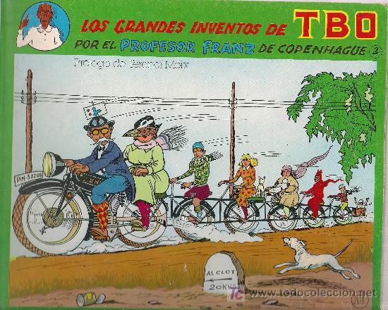 LOS GRANDES INVENTOS DEL TBO POR EL PROFESOR FRANZ DE COPENHAGUE. PROL. T. MOIX. BCN : COTAL, 1981. (Tebeos y Comics - Comics Extras)