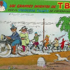 Cómics: LOS GRANDES INVENTOS DEL TBO POR EL PROFESOR FRANZ DE COPENHAGUE. PROL. T. MOIX. BCN : COTAL, 1981.. Lote 26830851