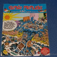 Cómics: GENTE MENUDA - SEMANARIO JUVENIL DEL ABC-III EPOCA Nº 144-16 AGOSTO DE 1992. Lote 23900899