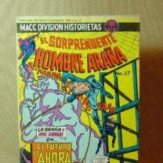 Comics: TEBEO, TBO, MACC DIVISION HISTORIETAS, EL SORPRENDENTE HOMBRE ARAÑA , ANO 2, Nº 37, 1975. Lote 17084776