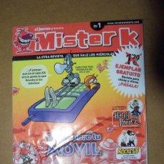 Cómics: MISTER K, EL JUEVES NÚMERO 1. Lote 26444626