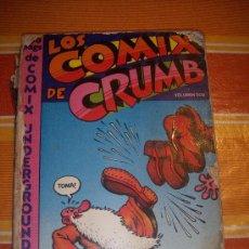 Cómics: LOS COMIX DECRUMB VOLUMEN DOS DE 160 PAGINASUNDERGROUND USA. Lote 17595736