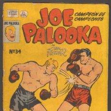 Comics: JOE PALOOKA Nº34. CAMPEON DE CAMPEONES (A-COMIC-895). Lote 18953940