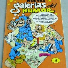 Cómics: NUEVAS GALERÍAS DEL HUMOR TEBEO Nº 9 SUPER MORTADELO Nº 31 - 35 - 41 - 42 EDICIONES B 1987. Lote 19098413