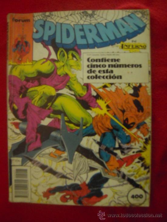 SPIDERMAN - RETAPADO CON 4 NUMEROS - FORUM (Tebeos y Comics - Comics Extras)