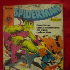 Cómics: SPIDERMAN - RETAPADO CON 4 NUMEROS - FORUM. Lote 19538389