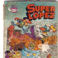 Cómics: OLÉ! SUPER LOPEZ Nº3, BRUGUERA, 4ª EDICIÓNLOS DIBUJOS DE JAN. Lote 26309226