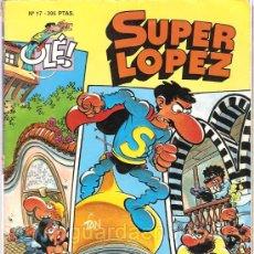 Cómics: JAN 7 SUPER LOPEZ-COLECCIÓN OLÉ!- 3-5-12-17 BRUGUERA-22-48-54 EDICIONES B 1987 1990. Lote 25635676