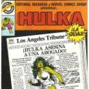 Cómics: 2 HULKA LA SALVAJE Nº 24-29 COMIC BRUGUERA Y MARVEL COMICS GROUP NUEVO 1982. Lote 25666558
