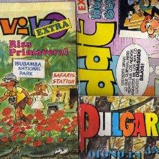 Cómics: LOTE DE TRES EXTRAS. Lote 20026109