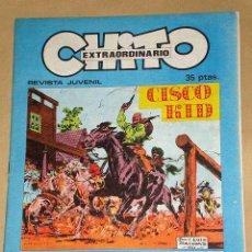 Cómics: CHITO EXTRAORDINARIO: CISCO KID, EL VENGADOR. POR ROD REED Y JOSÉ LUIS SALINAS. GRAFIMART 1974. +. Lote 27245704