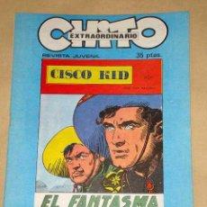 Cómics: CHITO EXTRAORDINARIO: CISCO KID, EL FANTASMA NEGRO. POR ROD REED Y JOSÉ LUIS SALINAS. GRAFIMART 1974. Lote 27245705