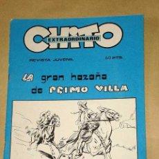 Cómics: CHITO EXTRAORDINARIO: LA GRAN HAZAÑA DE PRIMO VILLA. EMILIO FREIXAS. GRAFIMART 1974. CANELLAS CASALS. Lote 27245698