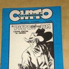 Cómics: CHITO EXTRAORDINARIO: PISTOL JIM, LUCHA CONTRA EL CRIMEN. CARLOS FREIXAS. GRAFIMART 1974. +++. Lote 24383247