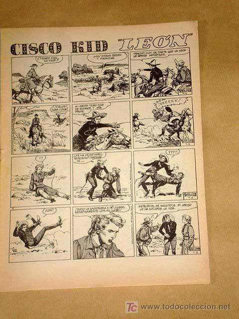 Cómics: CHITO EXTRAORDINARIO: CISCO KID, LEÓN. POR ROD REED Y JOSÉ LUIS SALINAS. GRAFIMART 1974. +++ - Foto 2 - 27245703