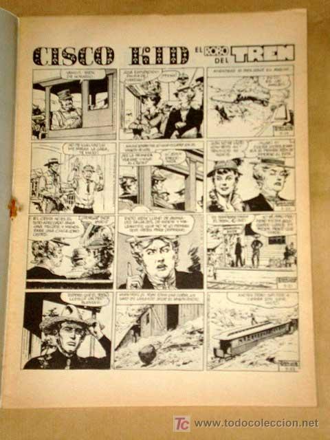 Cómics: CHITO EXTRAORDINARIO: CISCO KID, EL ROBO DEL TREN. POR ROD REED Y JOSÉ LUIS SALINAS. GRAFIMART 1974. - Foto 2 - 27245702