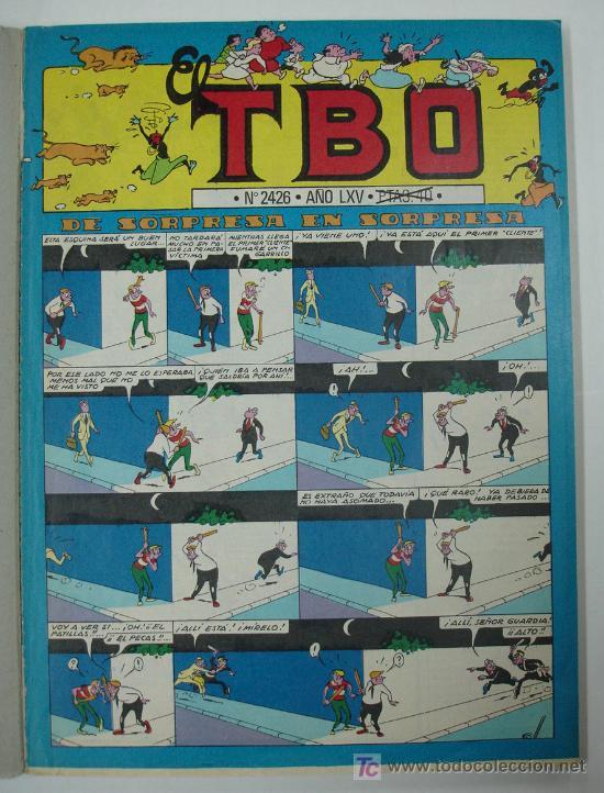 Cómics: TBO EXTRA. 1968. DEL Nº 2426 AL Nº 2436. - Foto 2 - 20064225