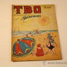 """Cómics: COMIC """"TBO"""" EXTRAORDINARIO DE VACACIONES. Lote 45788921"""