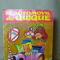 Cómics: CUENTO INFANTIL, PARA NIÑOS, EL AUTOMOVIL DE QUIQUE, COLECCION TELE RISA, BRUGUERA, 1975. Lote 20282166