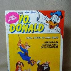 Cómics: COMIC, YO, DONALD, Nº 31, EDITORIAL MONTENA - MONDIBERICA. Lote 20282495