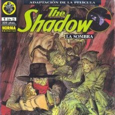 Comics: THE SHADOW Nº 1 DE 2 - EL COMIC OFICIAL DE LA PELICULA DE 1995 NORMA EDITORIAL. Lote 23528655