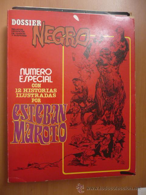 DOSSIER NEGRO. ESPECIAL ESTEBAN MAROTO (Tebeos y Comics - Comics Extras)