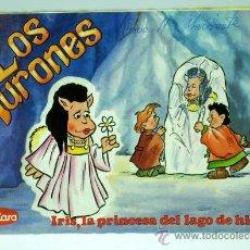 Cómics: LOS AURONES TEBEO CUÉTARA Nº 3 IRIS Y LA PRINCESA DEL LAGO DEL HIELO ED GEPSA 1986. Lote 23943546